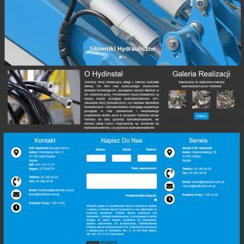 Strona Internetowa firmy P. W. Hydinstal
