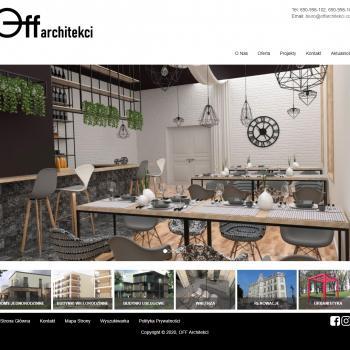 Strona Internetowa pracowni OFF Architekci