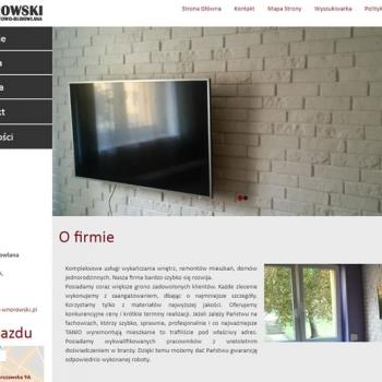 Firma Remontowo - Budowlana Ryszard Wnorowski